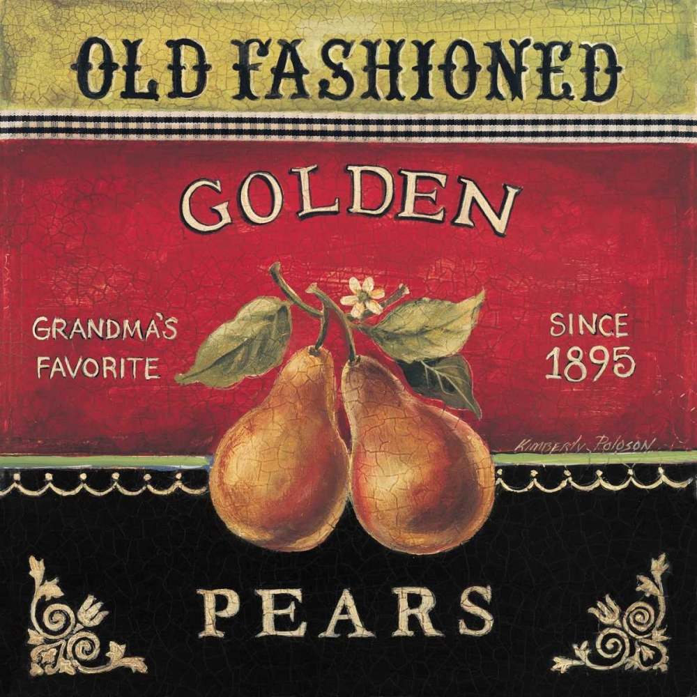 Golden Pears Poloson, Kimberly 6359