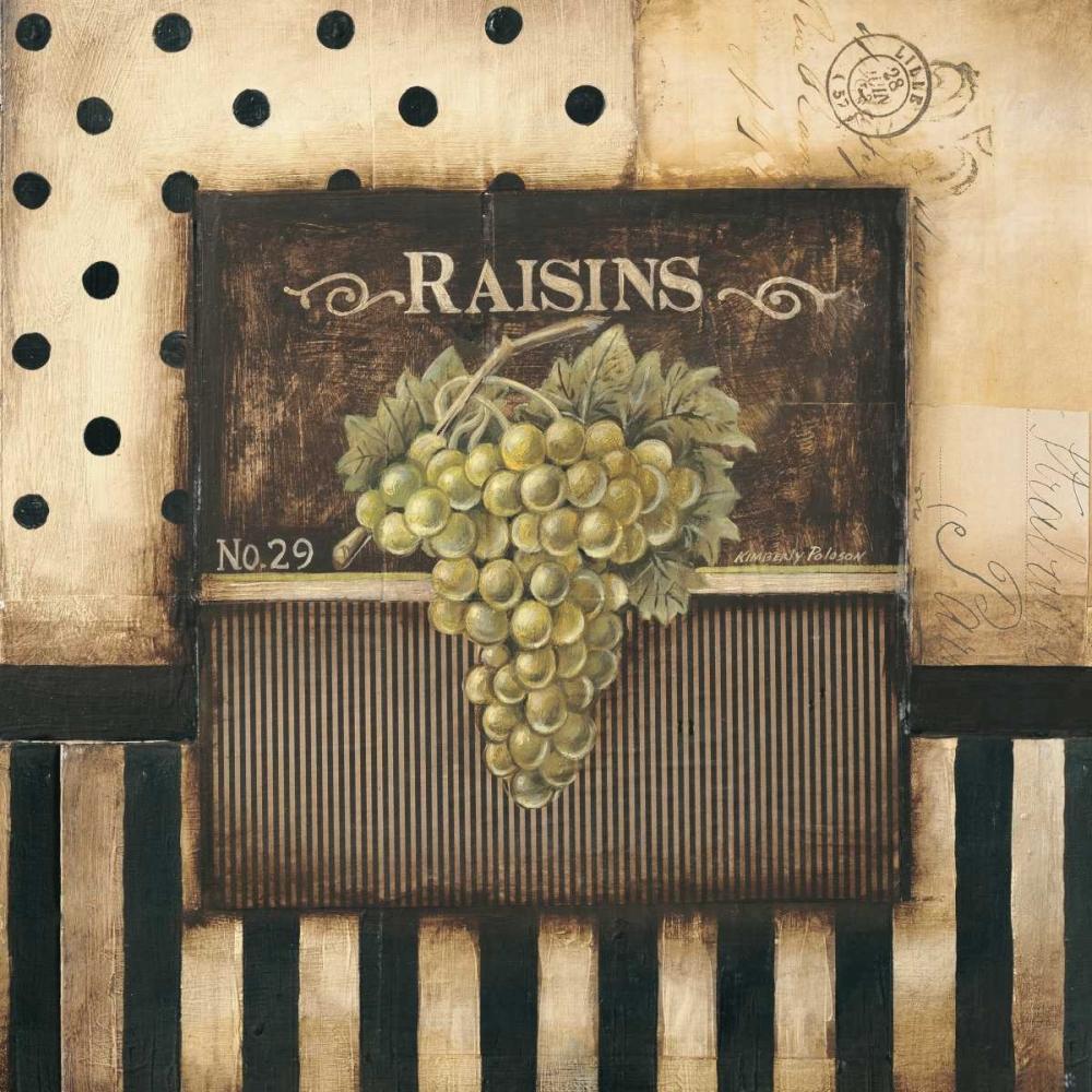 Raisins - square Poloson, Kimberly 6378