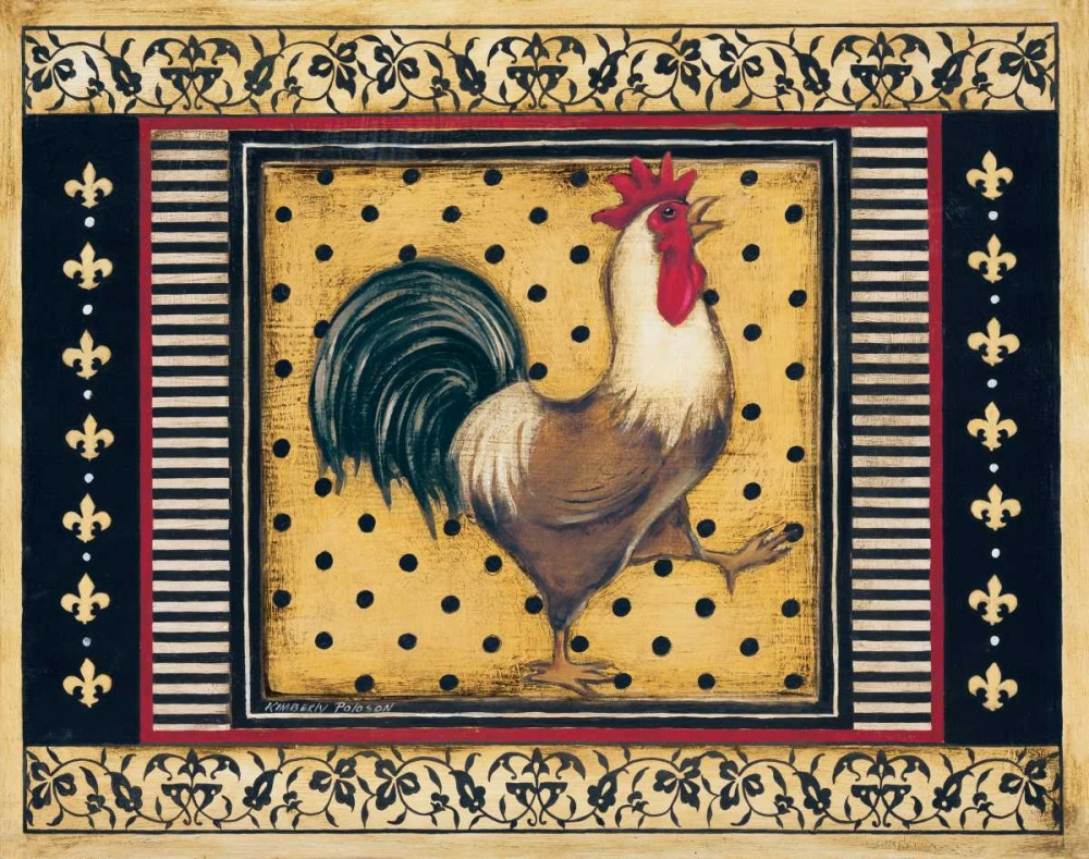Provence Rooster I Poloson, Kimberly 6383
