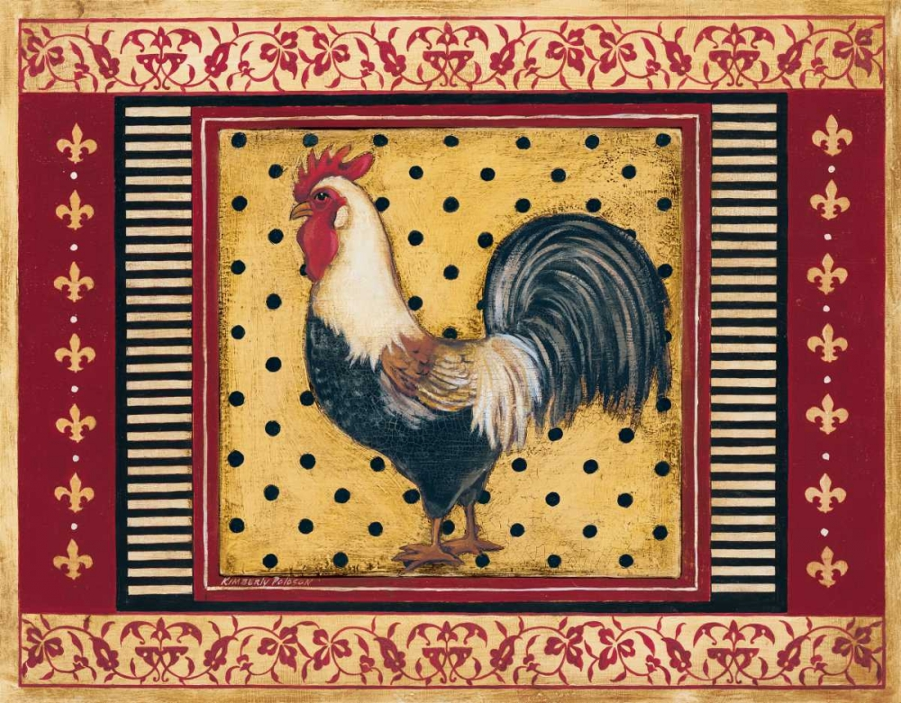 Provence Rooster II Poloson, Kimberly 6384