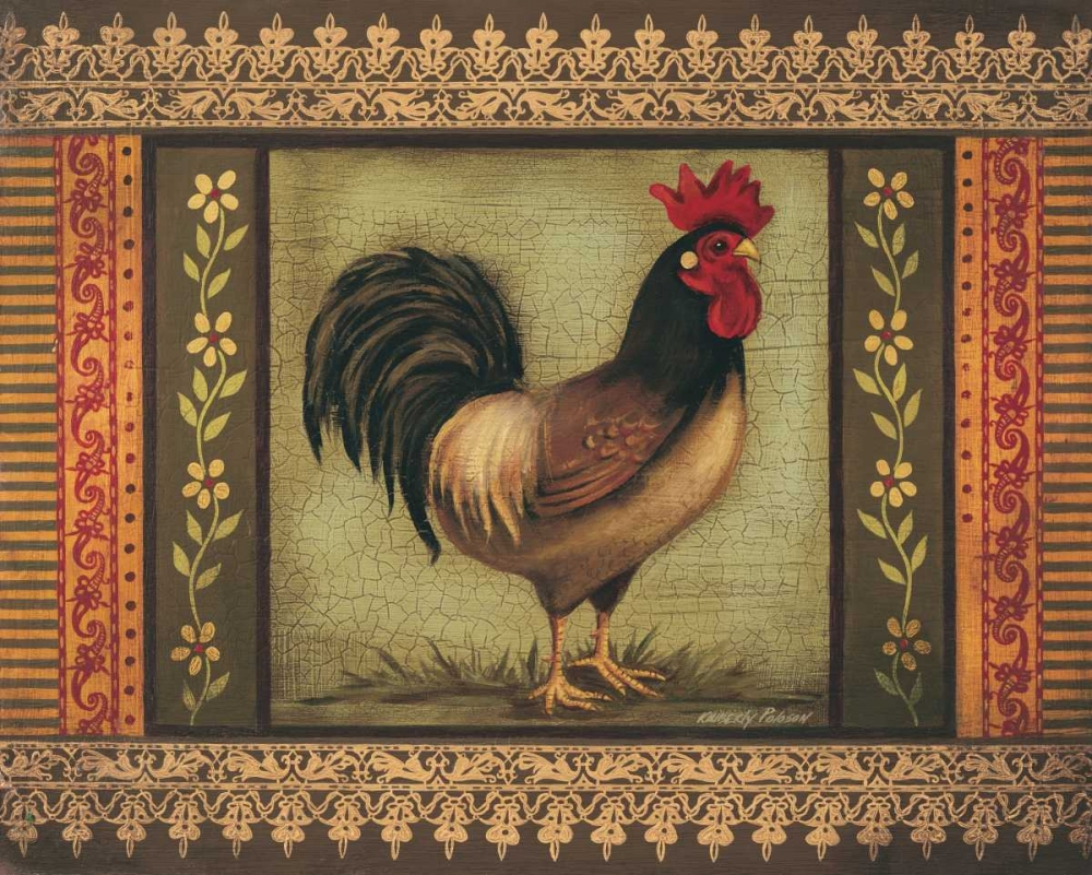 Mediterranean Rooster I Poloson, Kimberly 6385