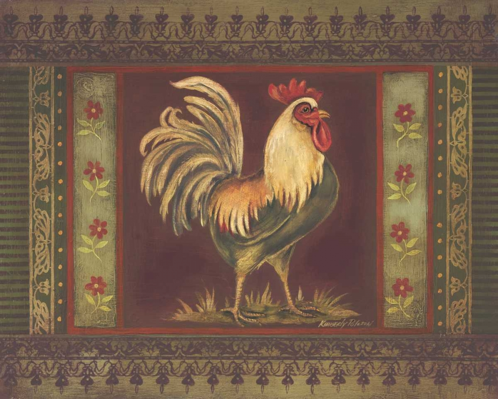 Mediterranean Rooster II Poloson, Kimberly 6386