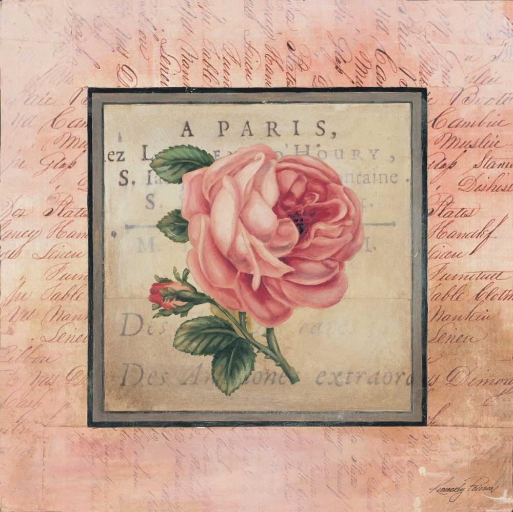 Blooming Paris I Poloson, Kimberly 6445