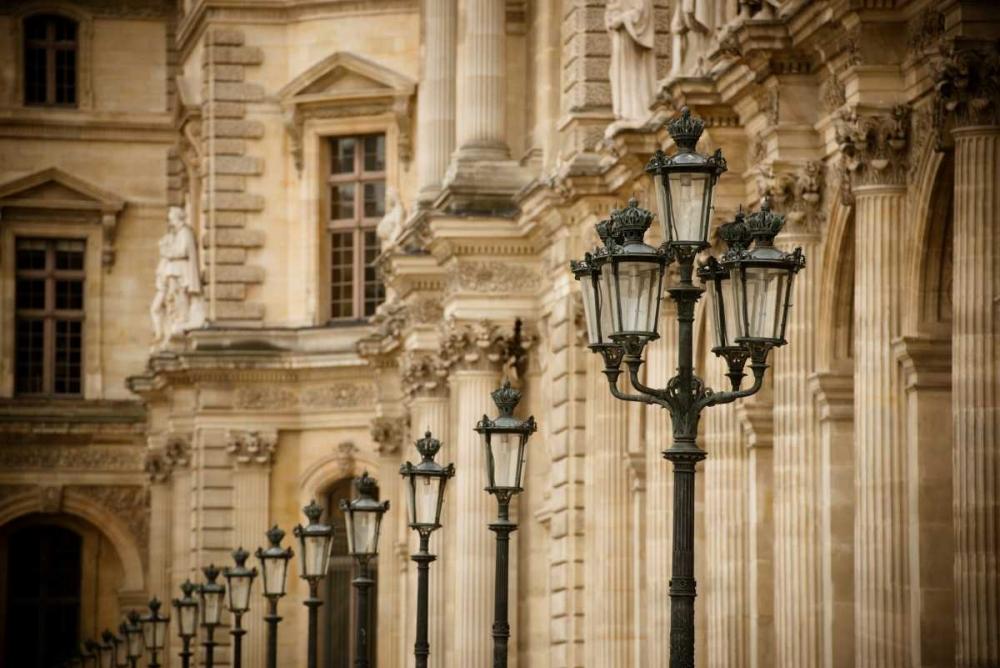 Louvre Lampposts I Berzel, Erin 19830