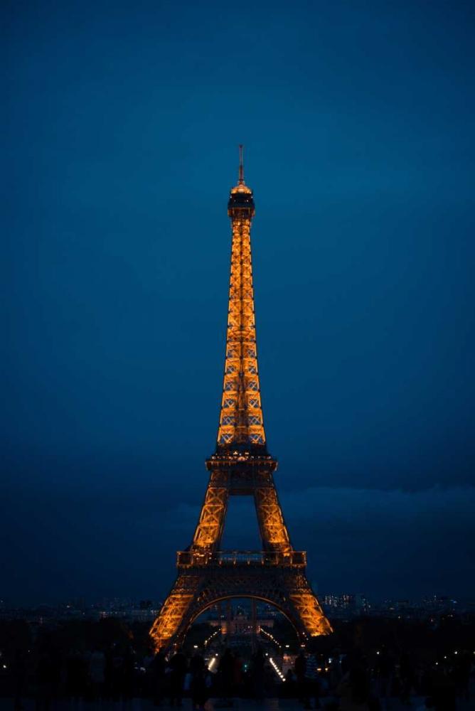 Eiffel Tower at Night IV Berzel, Erin 19865