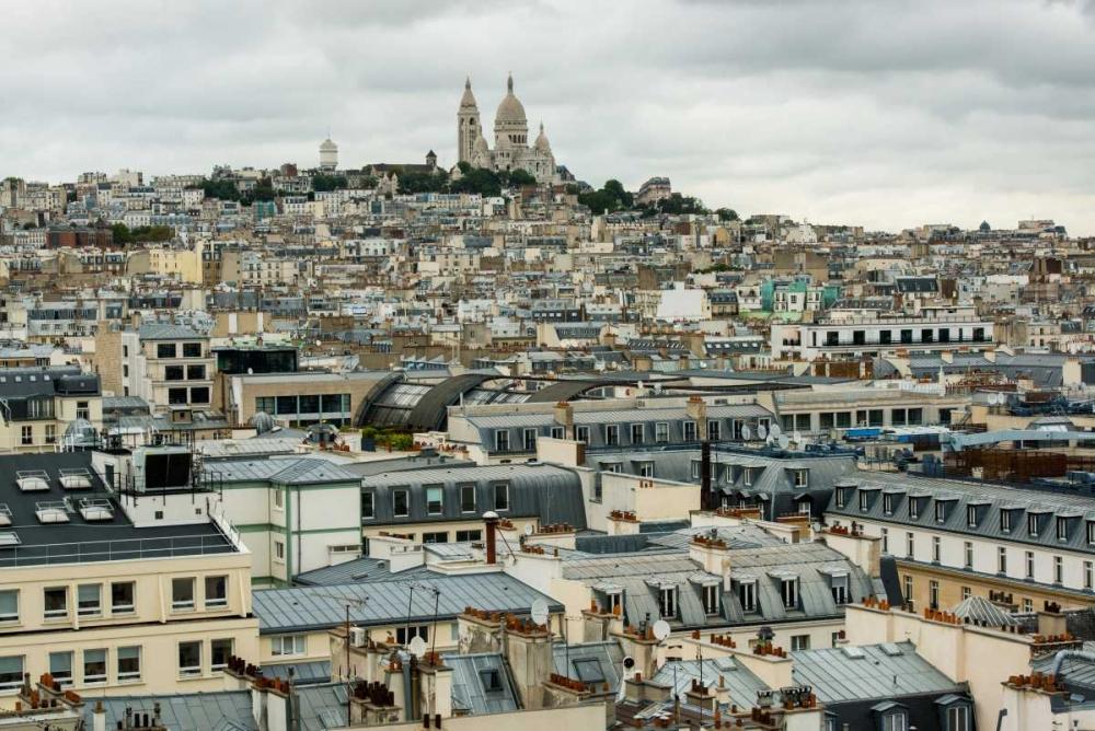 Paris Rooftops II Berzel, Erin 63925