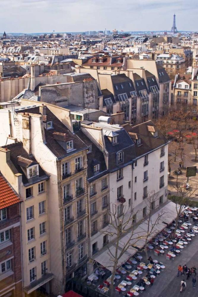 Paris Rooftops I Crane, Rita 14273