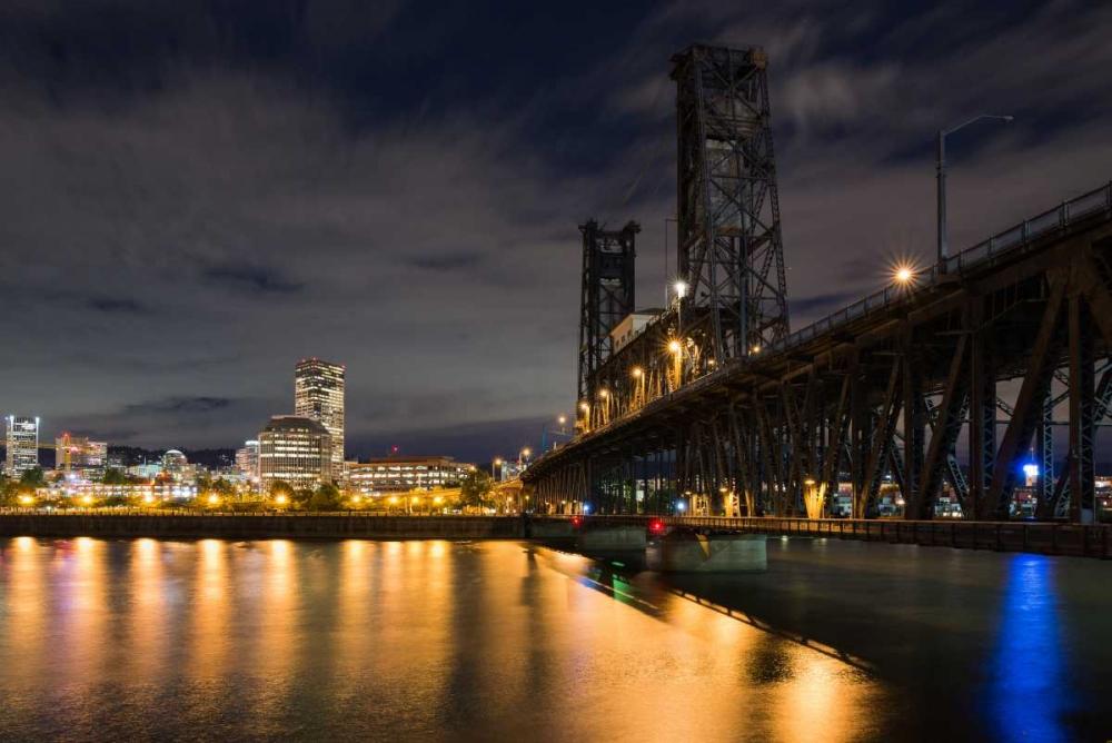Portland Steel Bridge Hellmann, Stan 163875