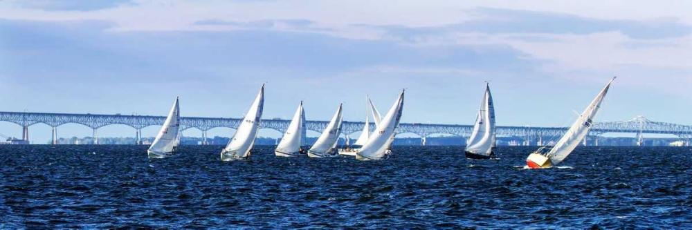Close Hauled Flotilla I Hausenflock, Alan 145393