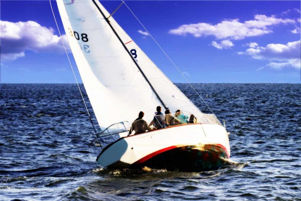 Sailing At Days End Hausenflock, Alan 145408