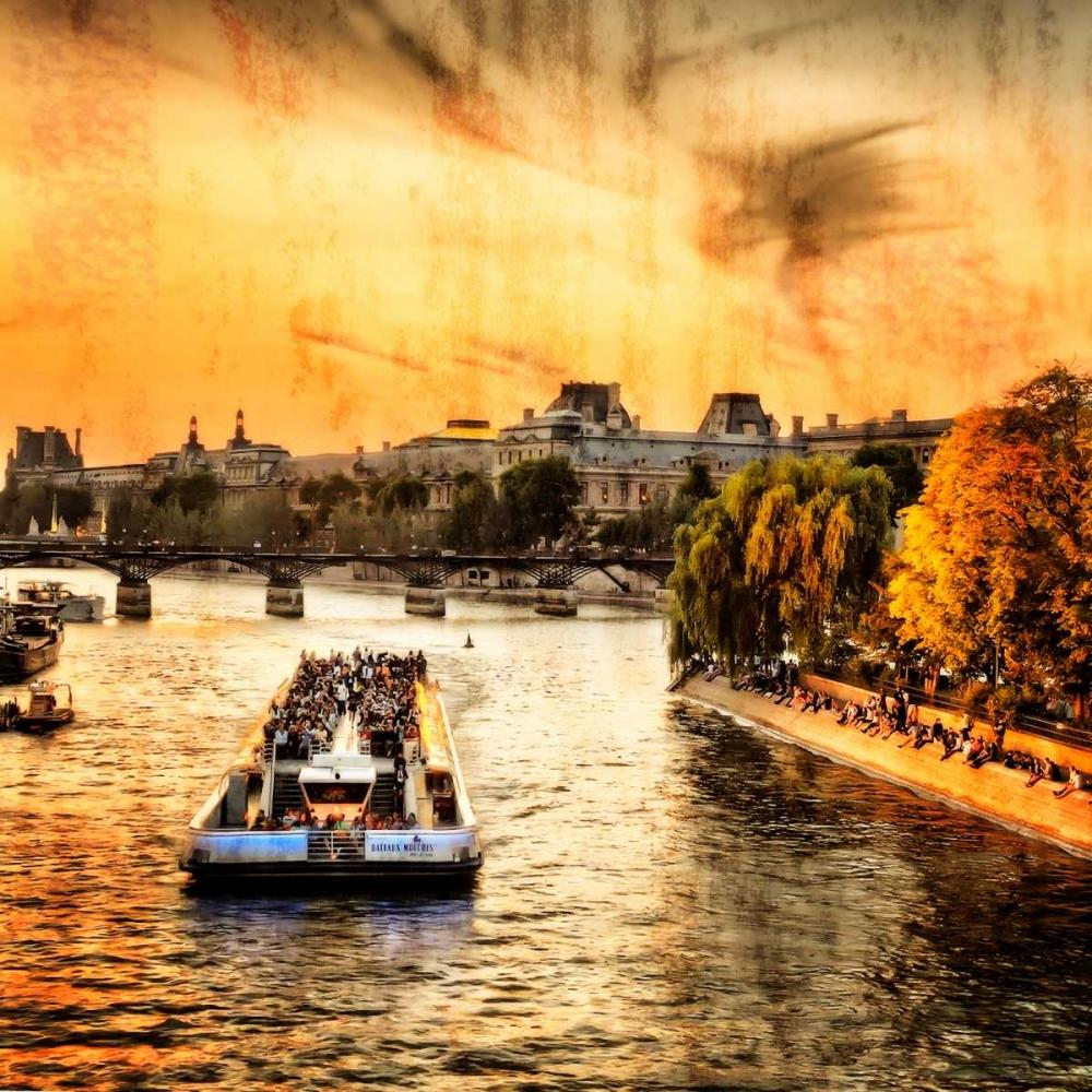 River Seine at Sunset II Hausenflock, Alan 145567