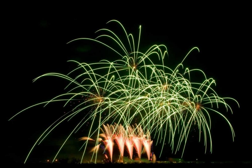 Fireworks at Havasu I Johnson, George 20047