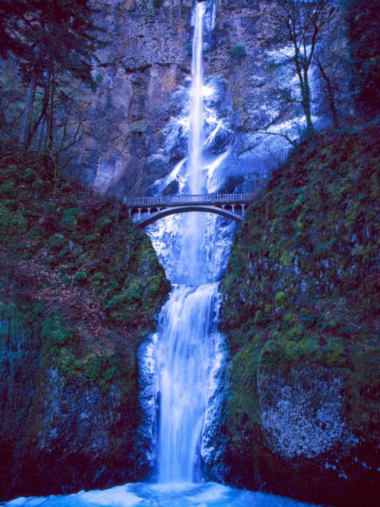 Multnomah Falls Winter Leahy, Ike 145967