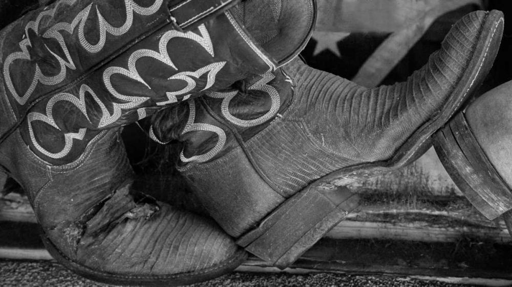 Cowboy Boots BW I Mahan, Kathy 29497