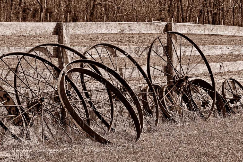 Antique Wagon Wheels I McNemar, C. Thomas 2568