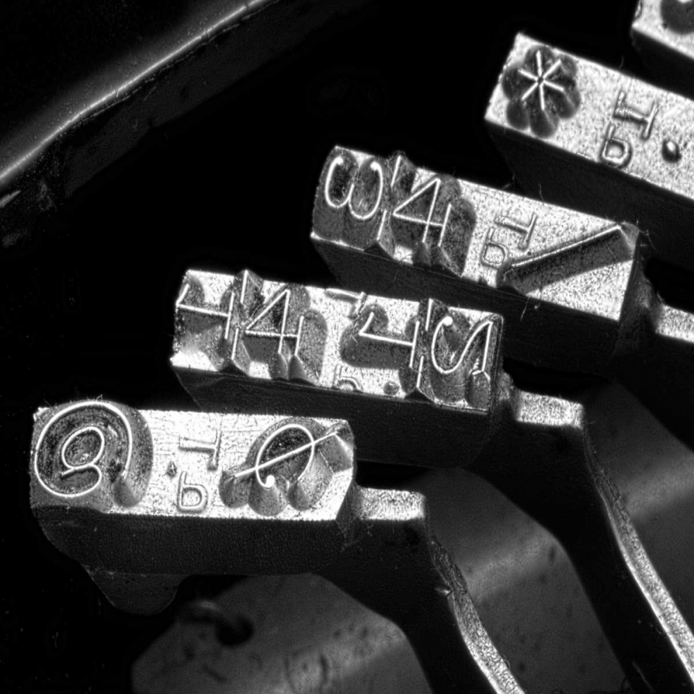 Typewriter Symbols Sq McNemar, C. Thomas 9800