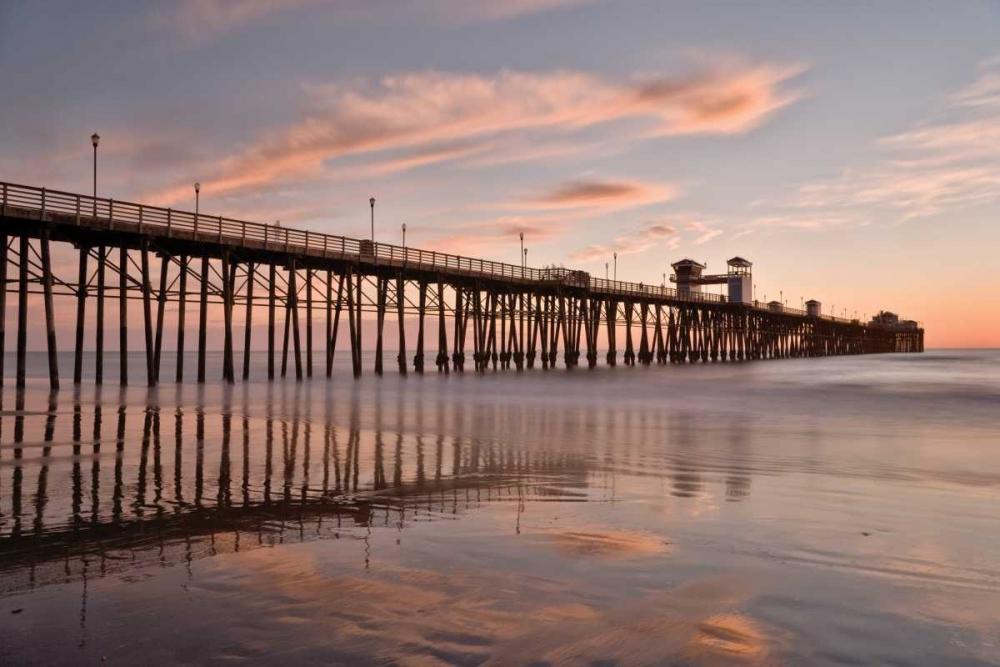 Pier Sunset I Peterson, Lee 2879