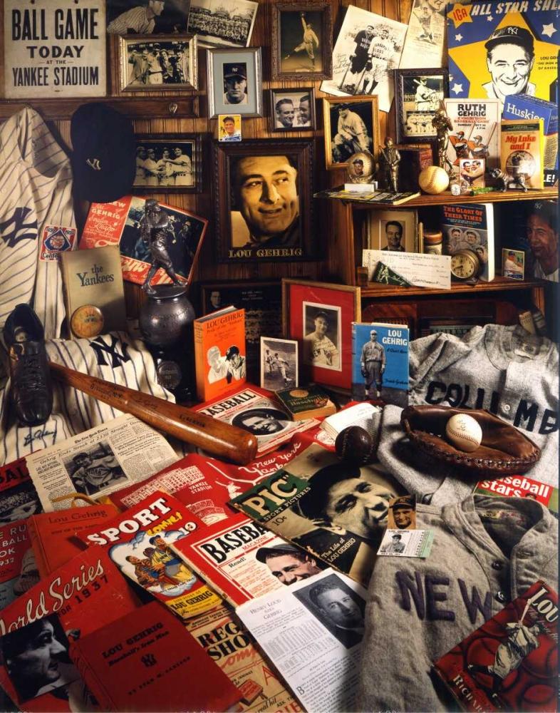 Lou Gehrig Mementos Spindel, David 146565