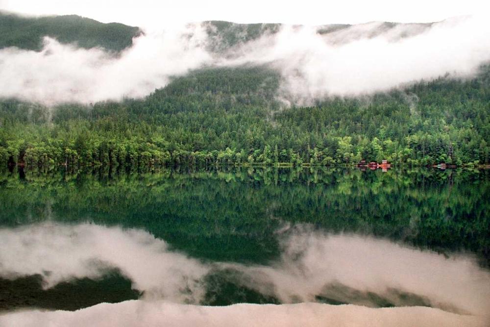 Lake Crescent Clouds Taylor, Douglas 146619