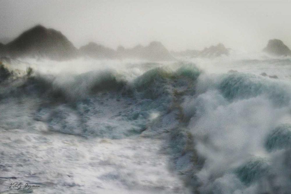 Stormy Blue Ocean Geyman, Vitaly 562