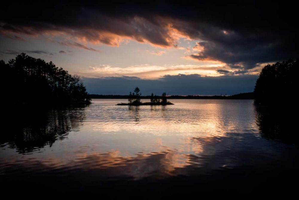 Twilight on the Lake I Wold, Beth 25486