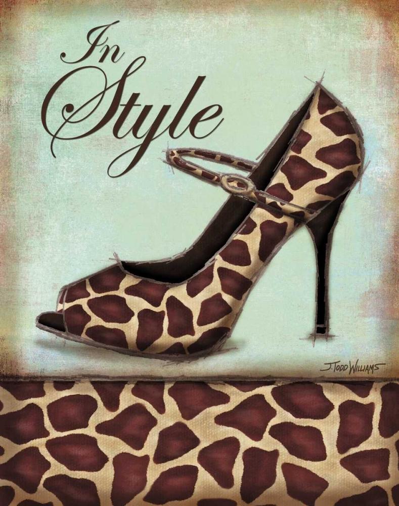 Giraffe Shoe Williams, Todd 6625