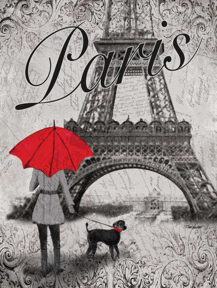 Strolling Paris II Williams, Todd 64596