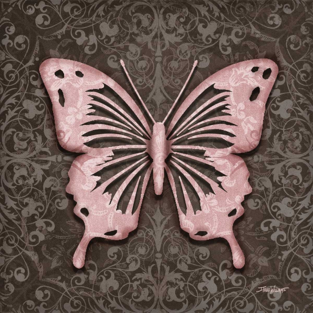 Pink Butterfly III Williams, Todd 64660