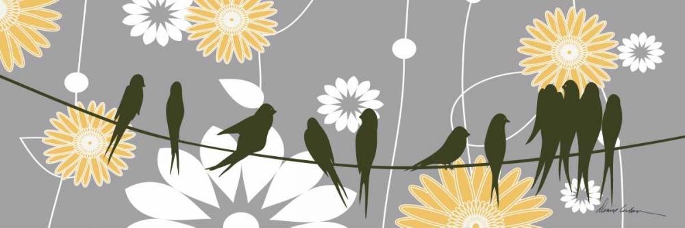 Birds on Wire III Urban, Denise 147044