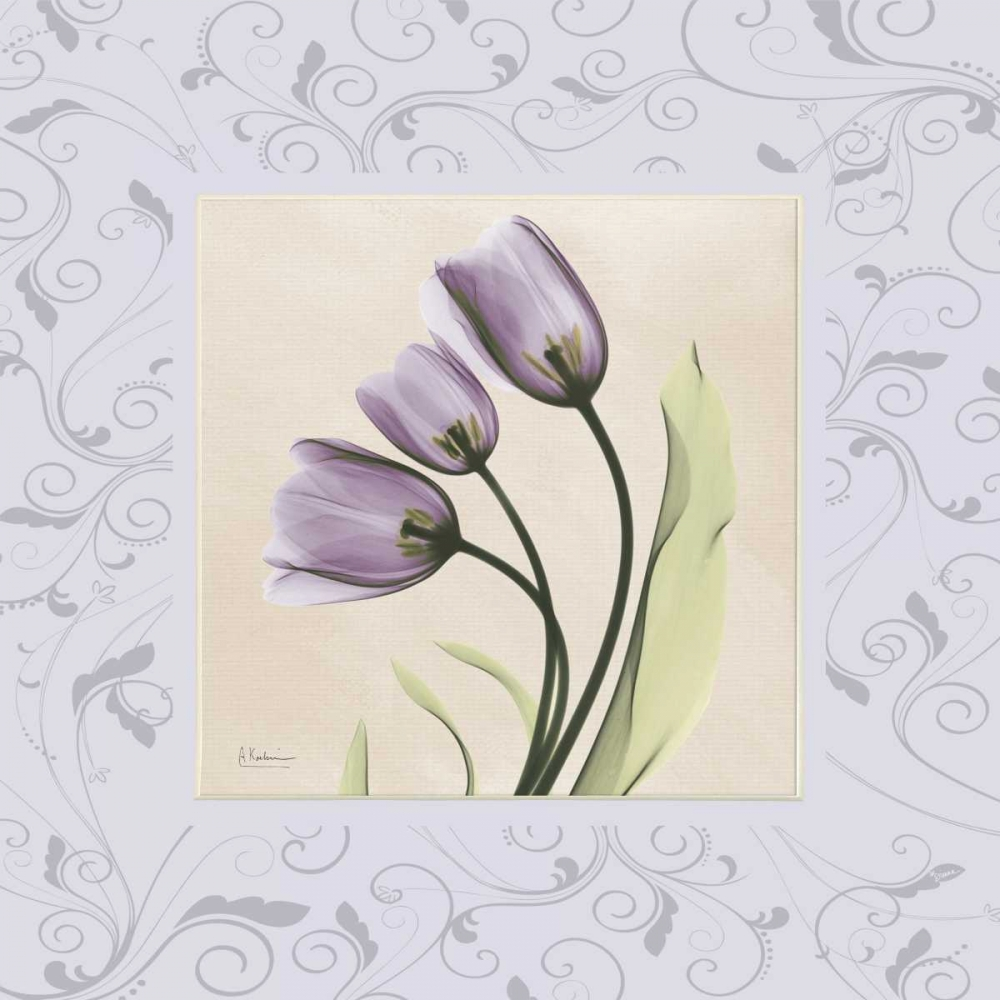 Purple Tulips on Purple Damask Koetsier, Albert 22477