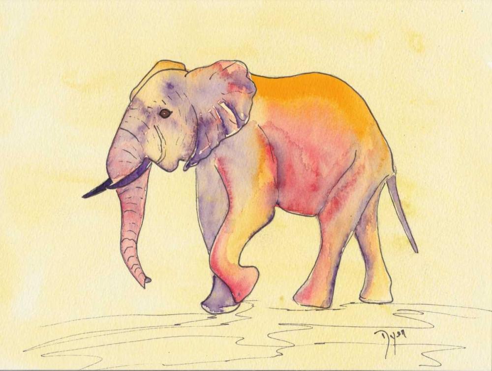 Rainbow Elephant Dyer, Beverly 86242