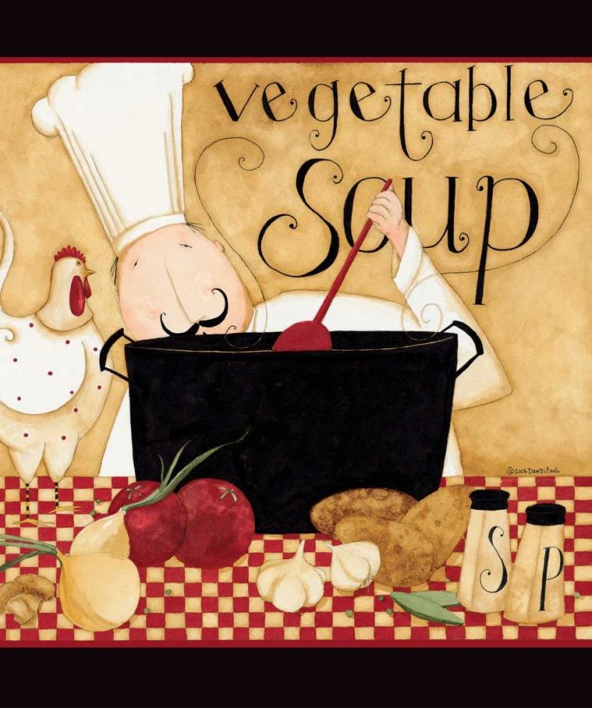 Vegetable Soup DiPaolo, Dan 56888