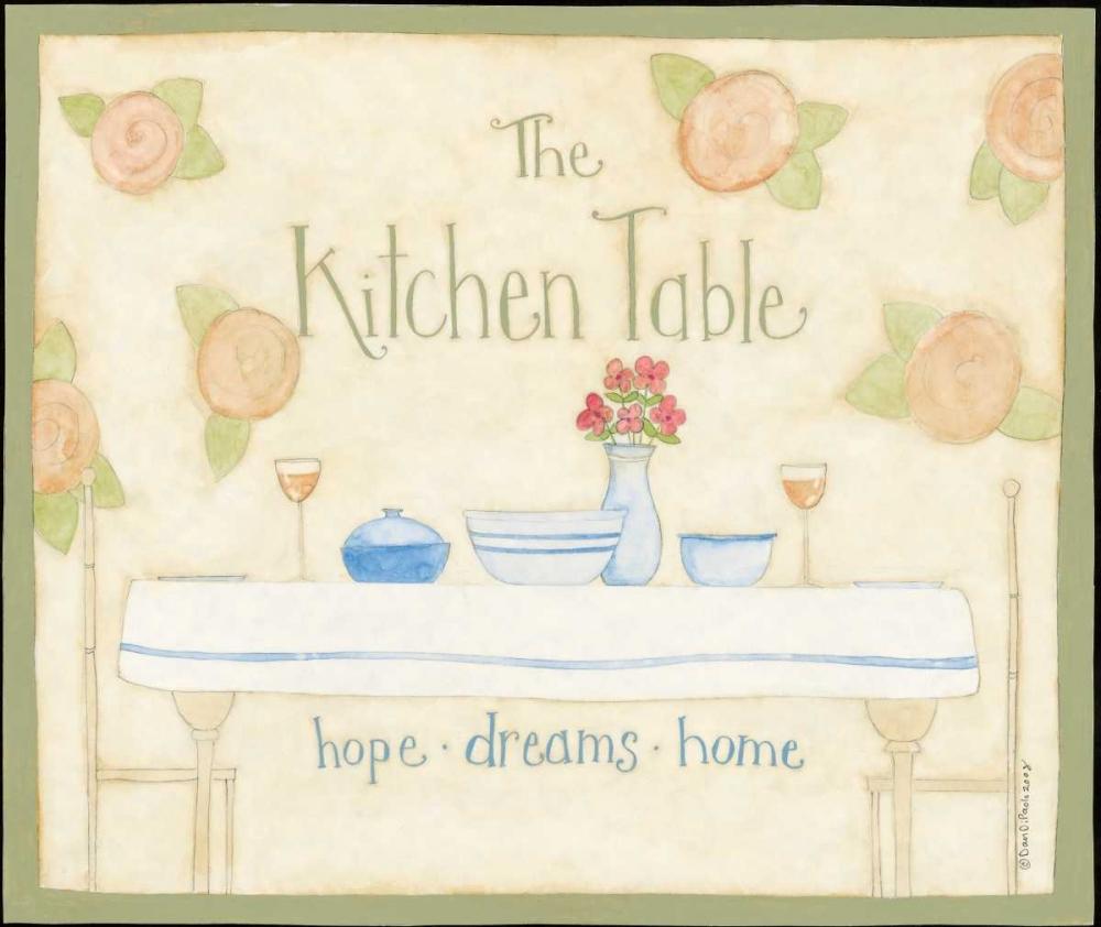 Kitchen Table DiPaolo, Dan 56902