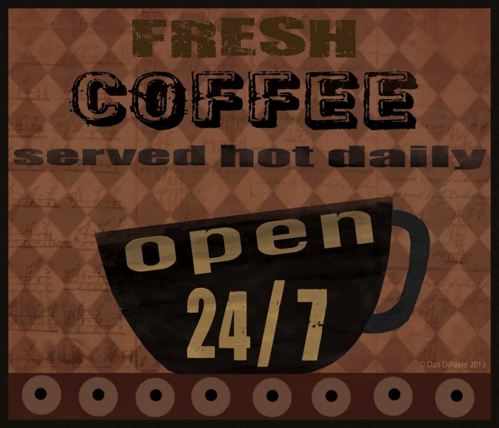 Fresh Coffee DiPaolo, Dan 57220