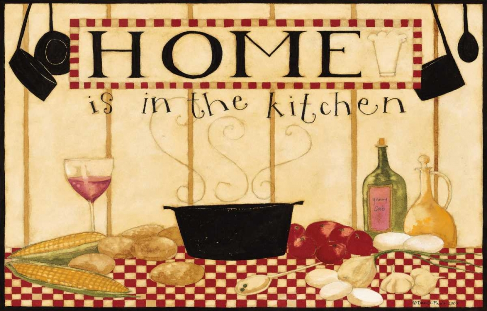Home Is In The Kitchen 2 DiPaolo, Dan 57427