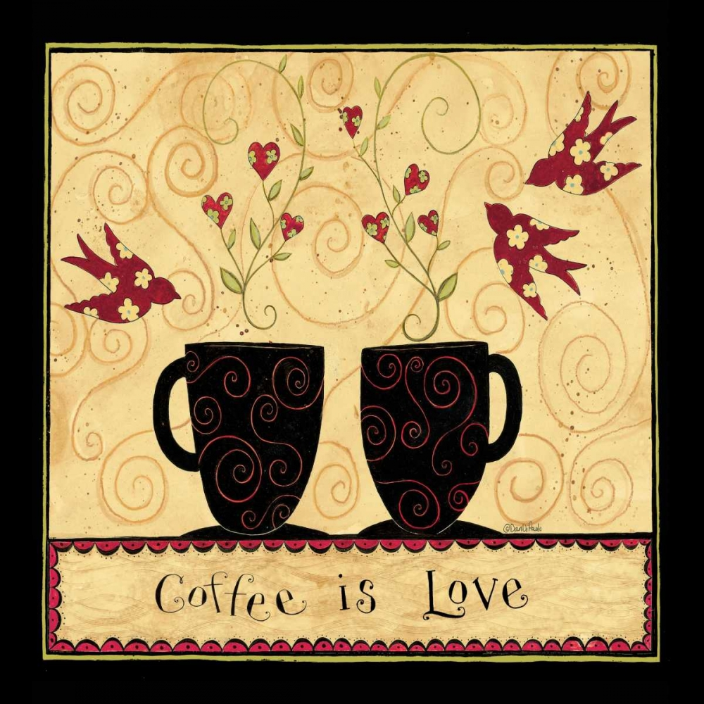 All My Coffee DiPaolo, Dan 57494