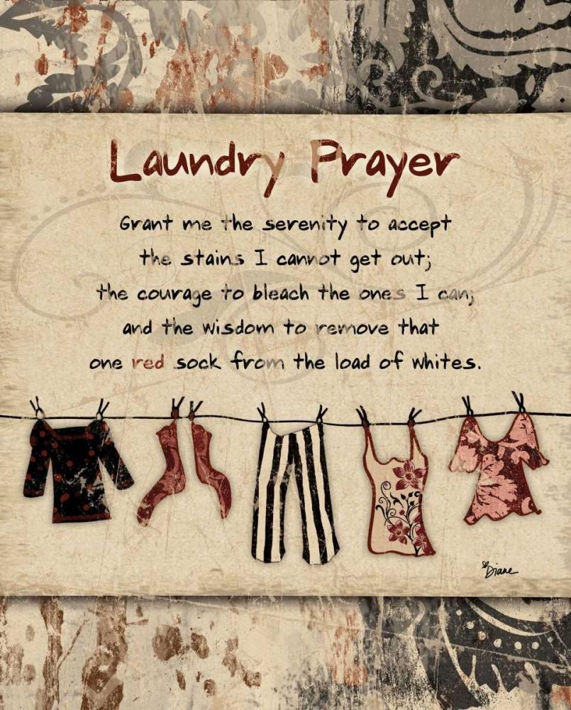 Laundry Prayer Distress Stimson, Diane 75021