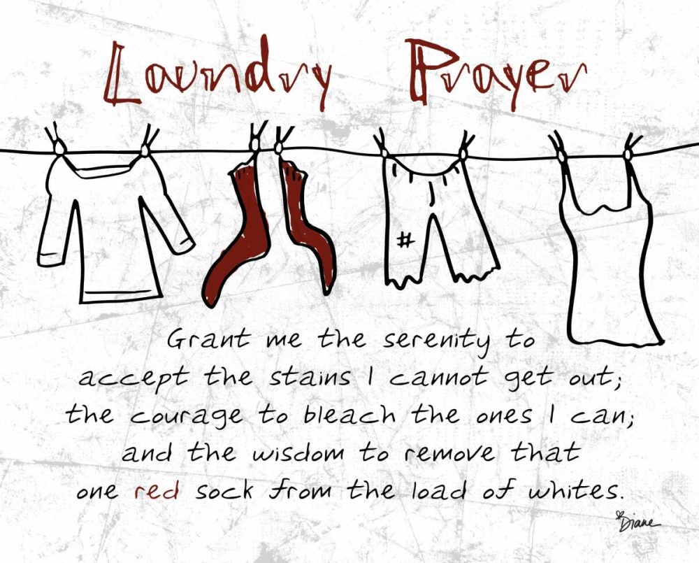 Laundry Prayer Gray Stimson, Diane 75015