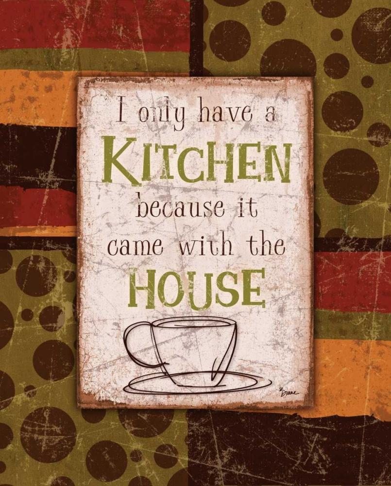 Kitchen House Brown Stimson, Diane 75083