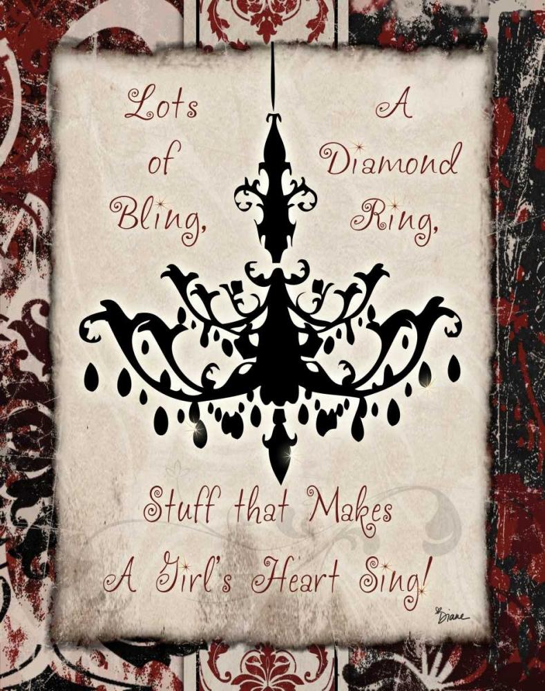 Chandelier Bling 1 Stimson, Diane 75097