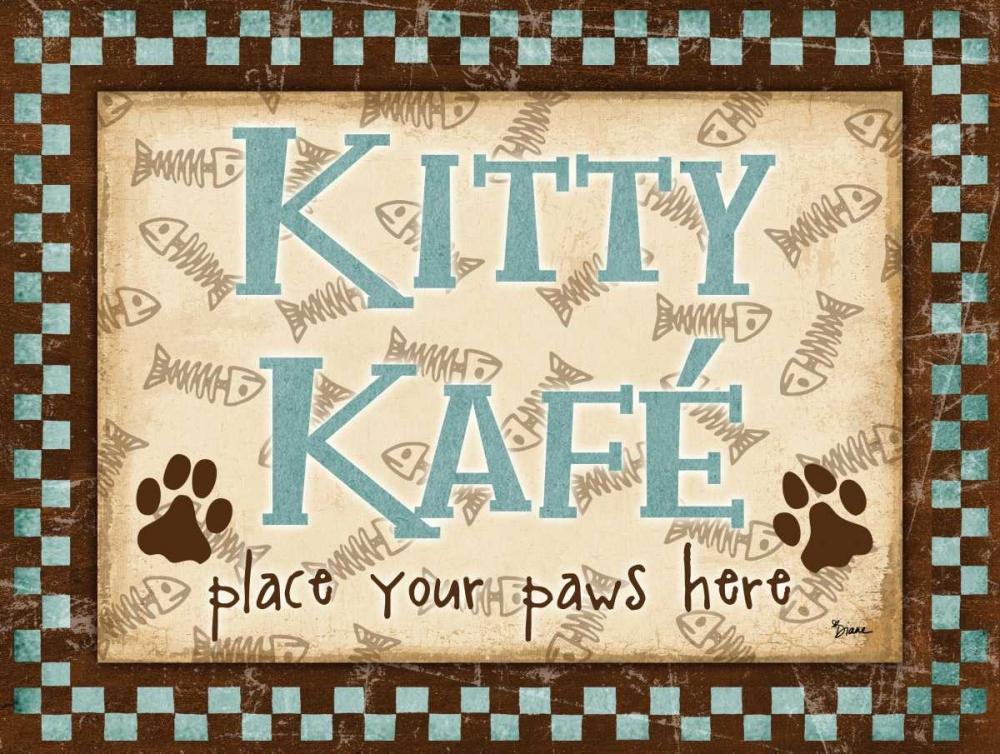 Kitty Kafe Blue Stimson, Diane 75170