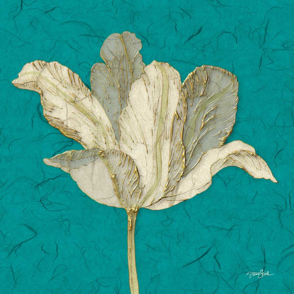 Teal Behind Tulip Stimson, Diane 75283
