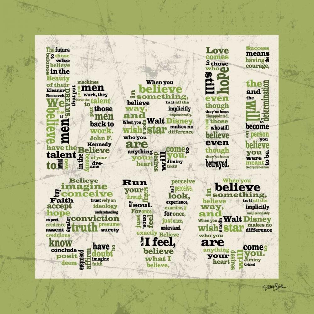Believe Green Stimson, Diane 75370