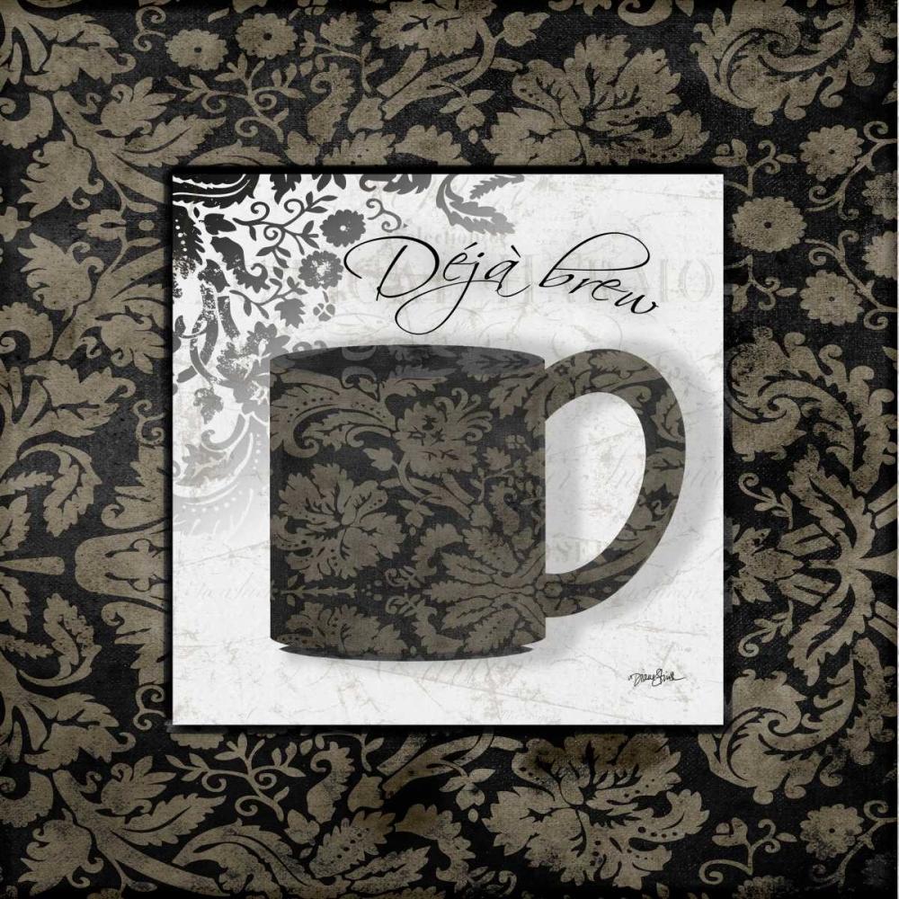 Coffee Damask 2 Stimson, Diane 75512