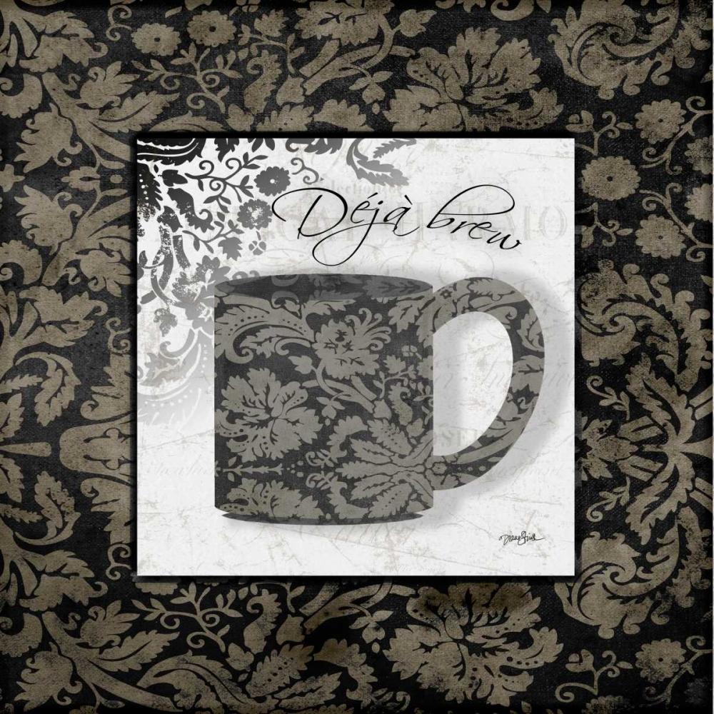 Gray Coffee Damask 2 Stimson, Diane 75513