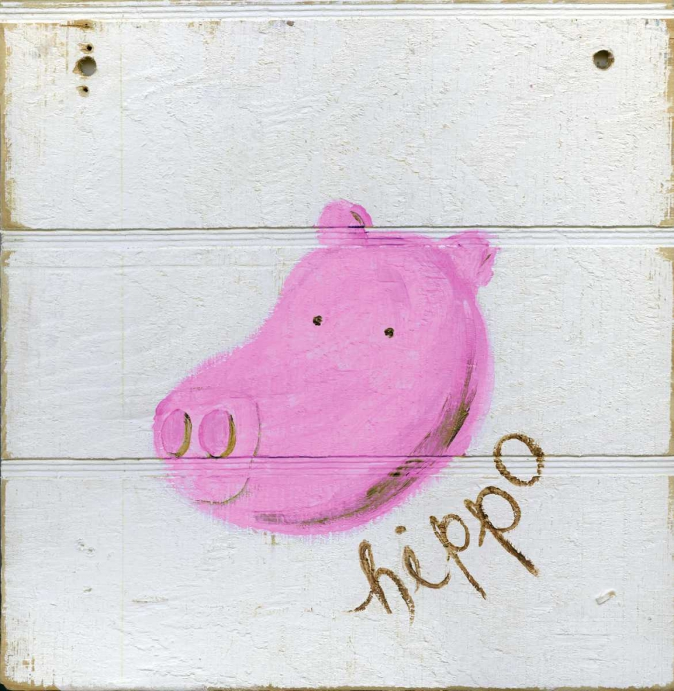 Happy Pink Hippo Butson, Erin 161374