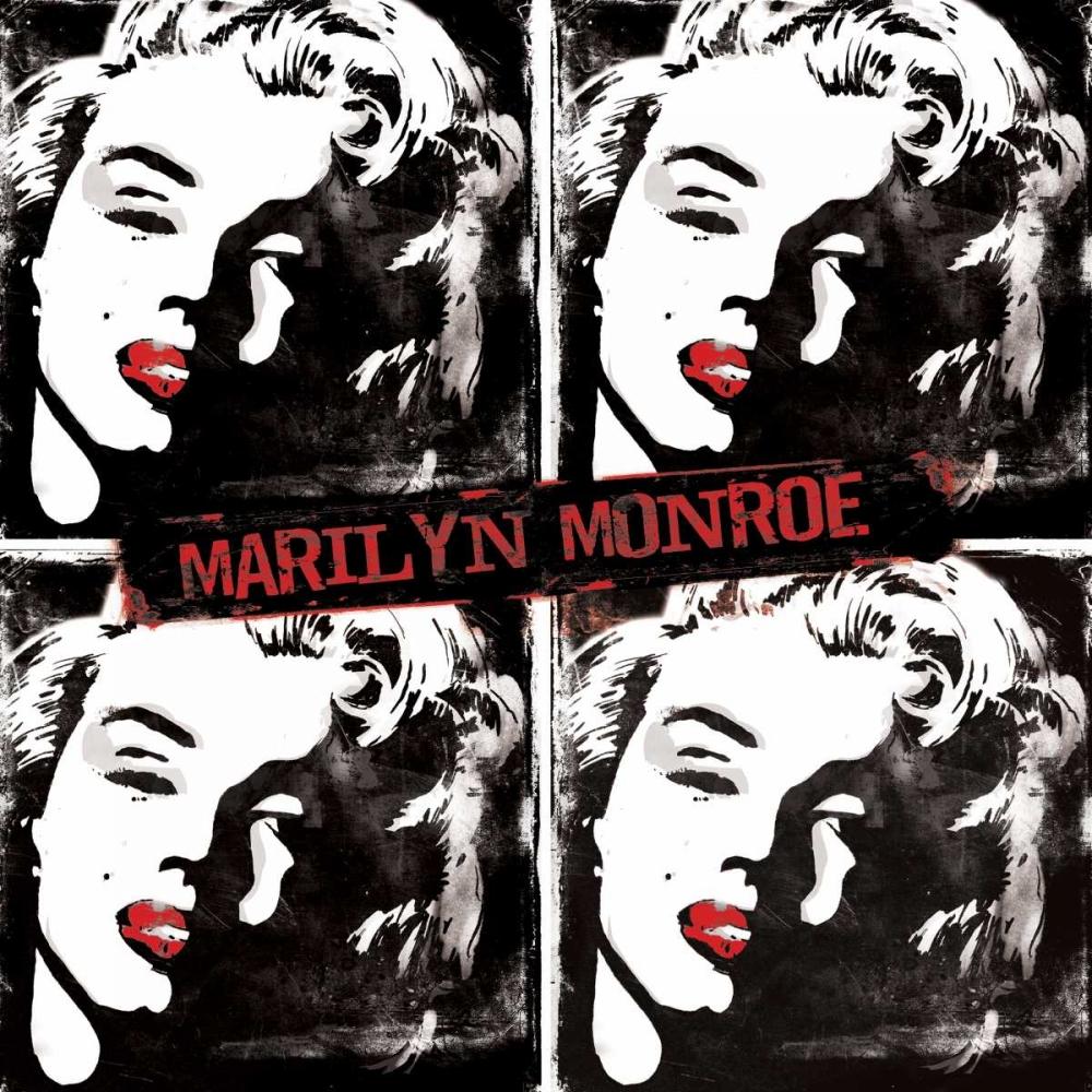 Red Marilyn Watercolor Rodriquez Jr, Enrique 31570