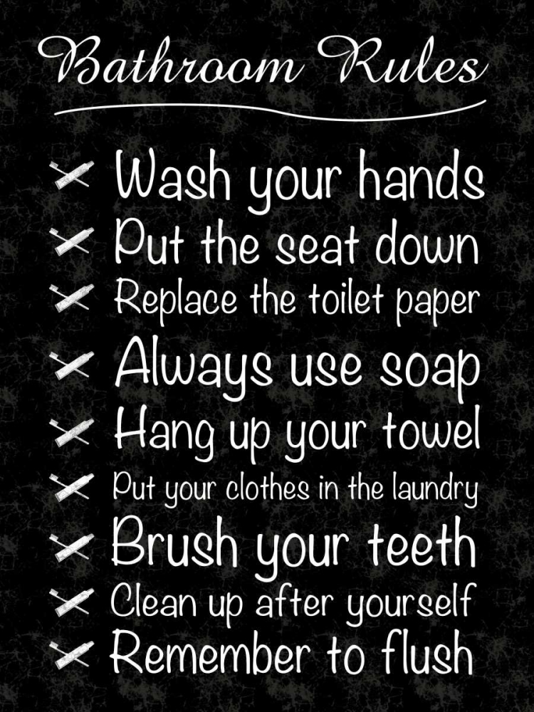 Bathroom Rules Gibbons, Lauren 75892