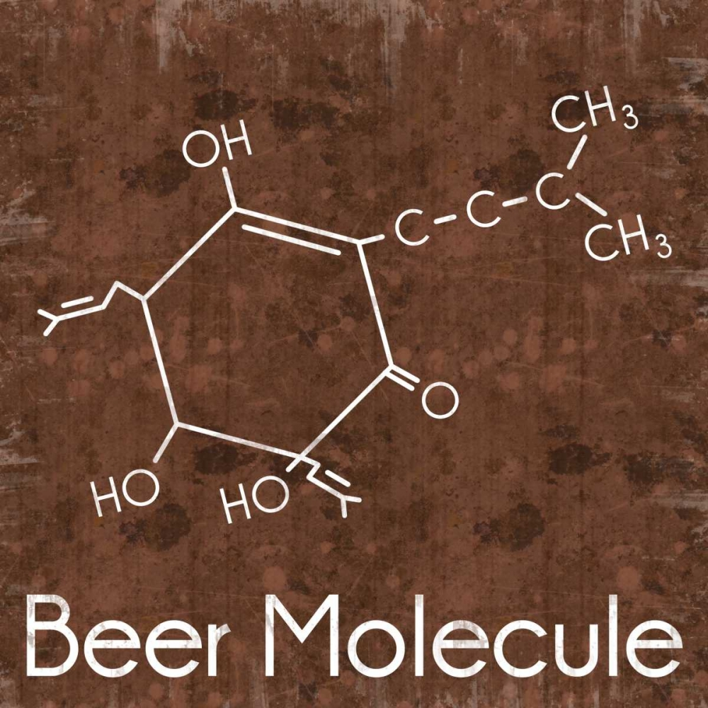 Beer Molecule 2 Brown Gibbons, Lauren 76244