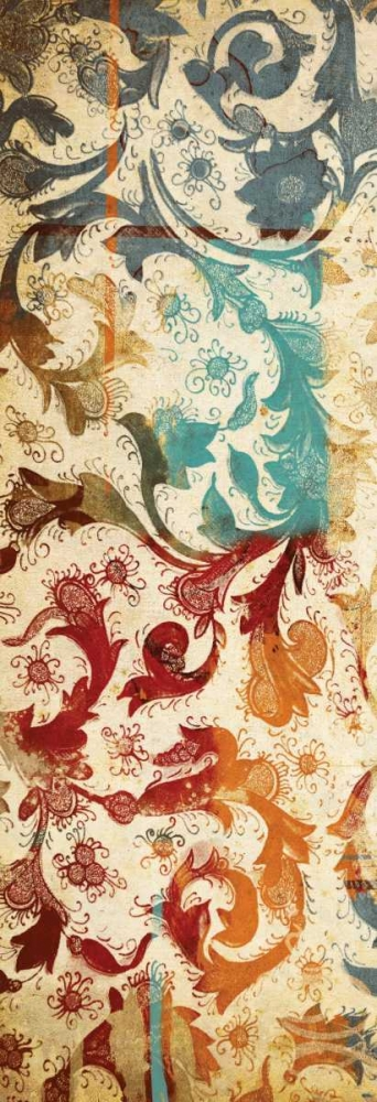 Abstract floral mate Grey, Jace 25764